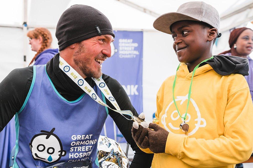 Brighton Marathon, patient and runner