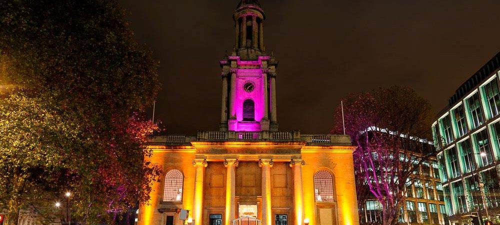 The entrance to One Marylebone venue
