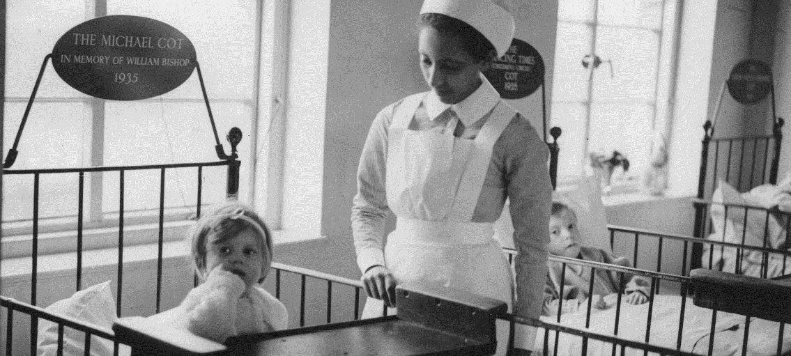 Princess Tsahai as nurse in 1936