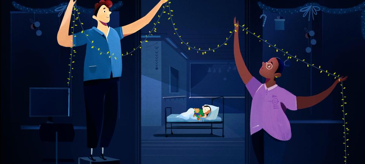 Animation of a GOSH ward