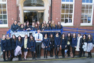 Outside Watford Grammar School for Girls