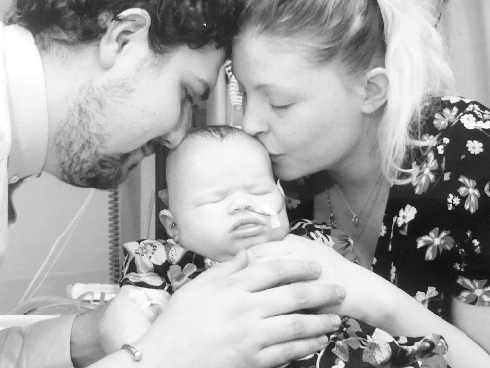 Hallie, Rebecca and Josh