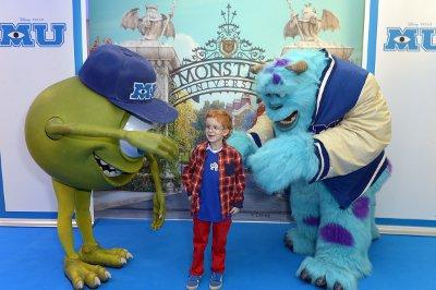 Oscar at the GOSH Monsters University premiere