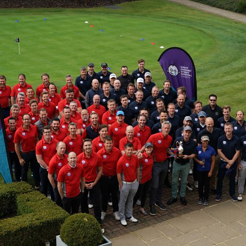 GOSH Team at Golf Day
