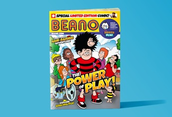 A picture of the Power of Play themed Beano comic