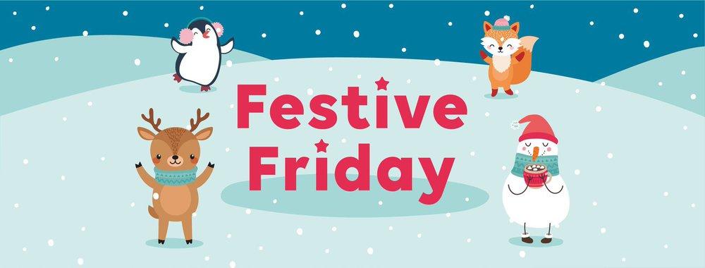Festive Friday banner
