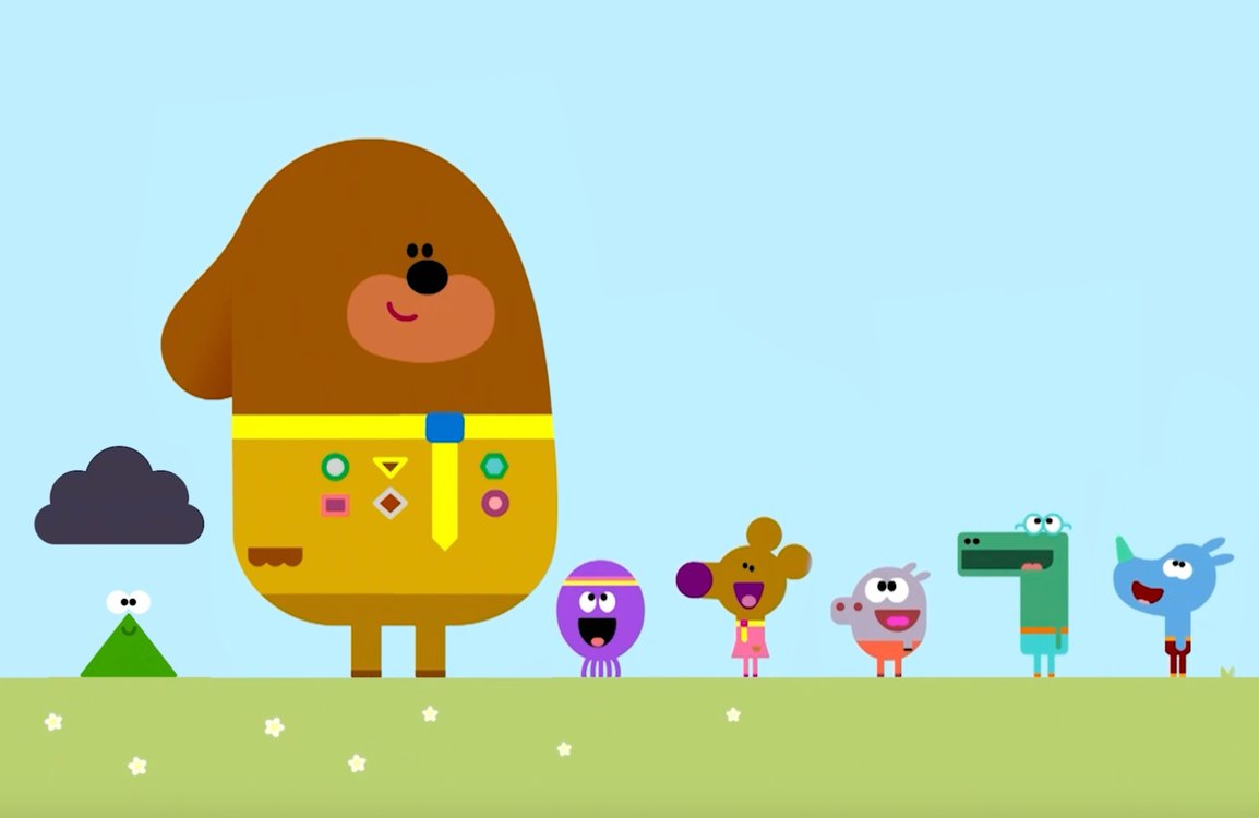 Duggee and the Squirrels playing