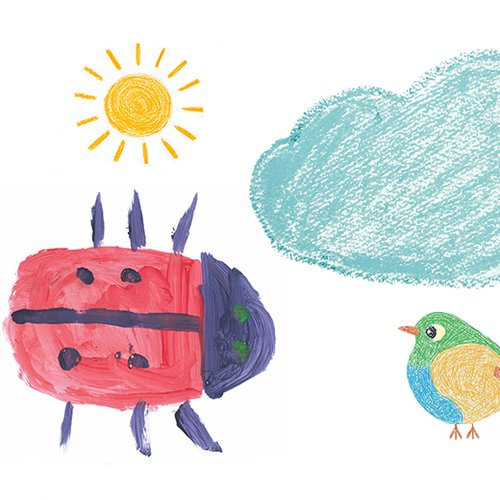 Illustrations of the natural world by GOSH patients