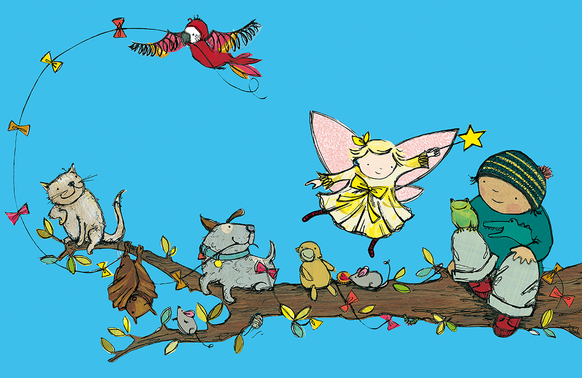Illustration from Freddie and the Fairy activity