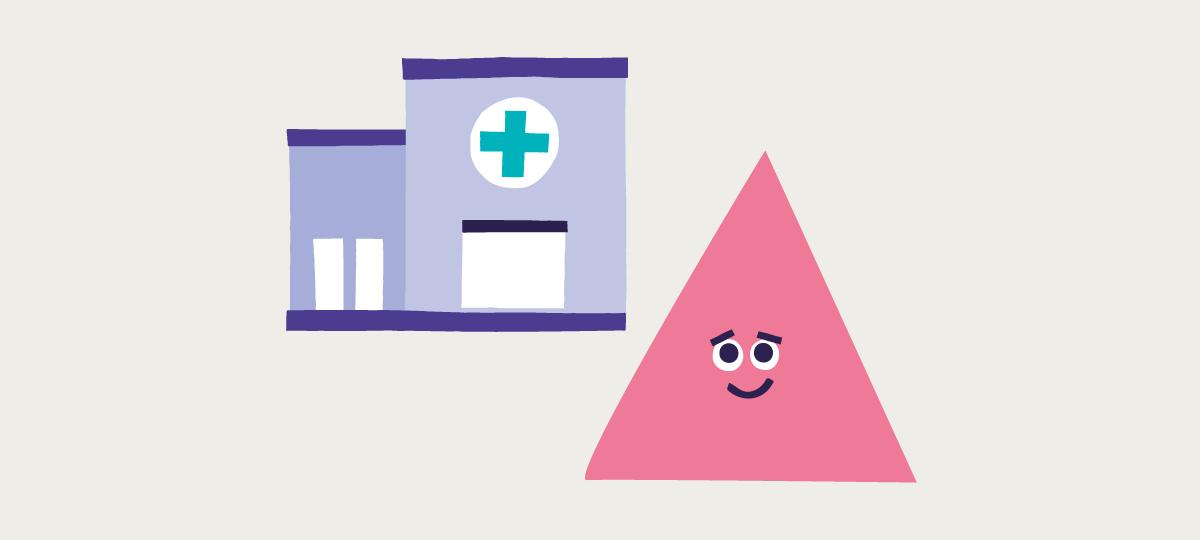 Coping with illness illustration