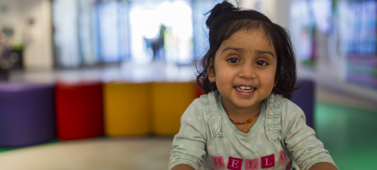 Picture of GOSH patient Tulsi