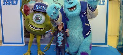 Tyshan at the Monsters University GOSH premiere