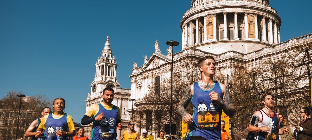 Sign up to the London Landmarks Half Marathon for GOSH