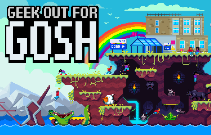 Logo for Geek out for GOSH