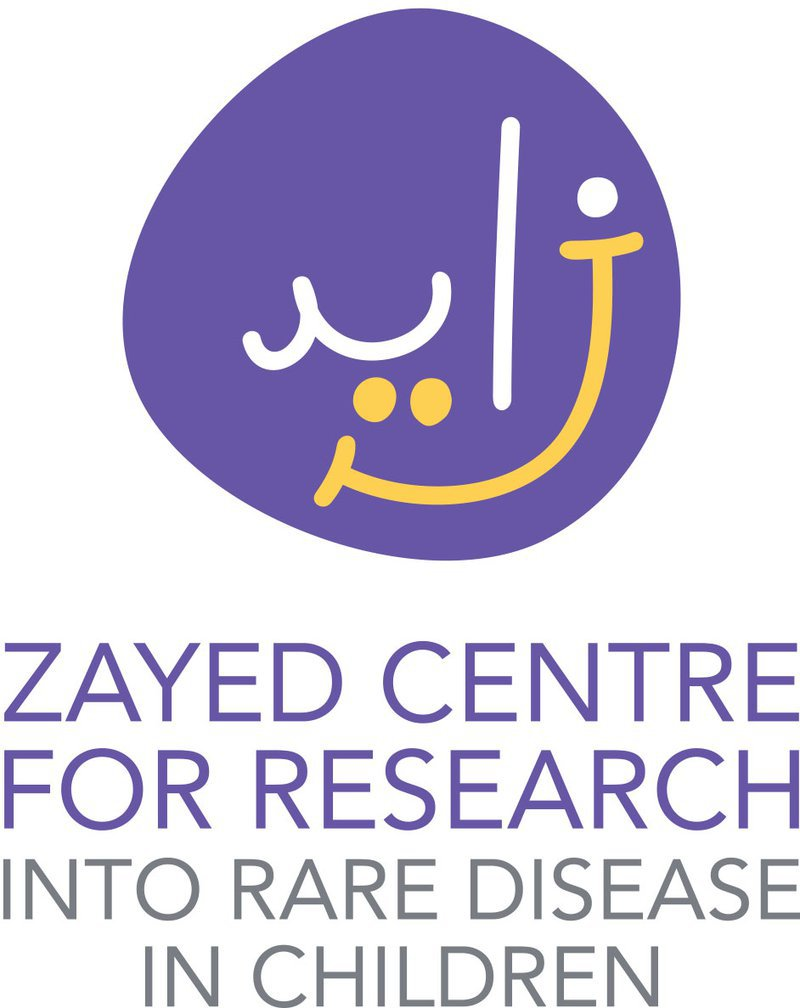 Zayed centre for rare diseases logo
